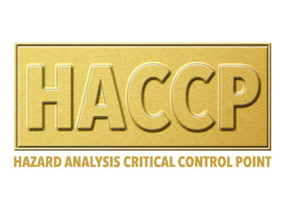HACCP system included with ChefSmart